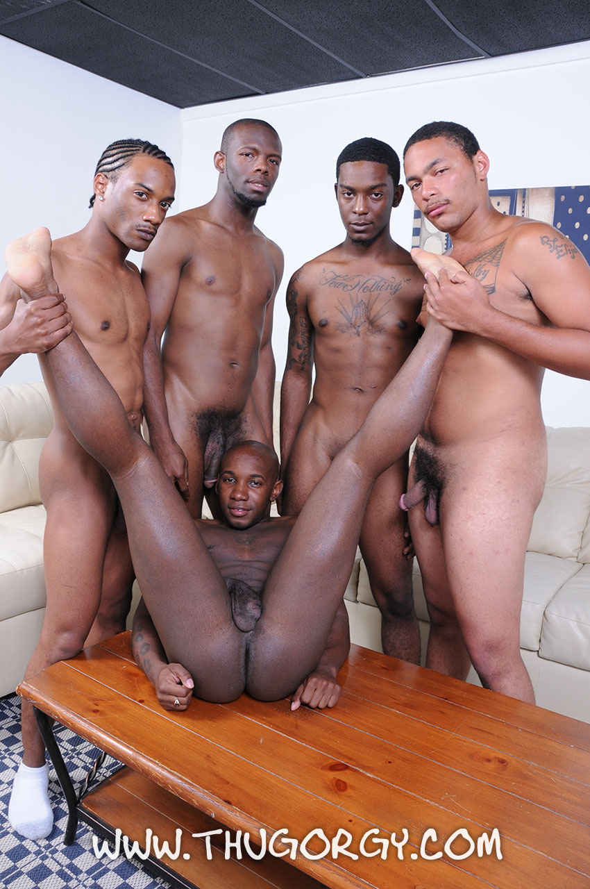 Black Gangster Gay Fucked By 2 White Guys