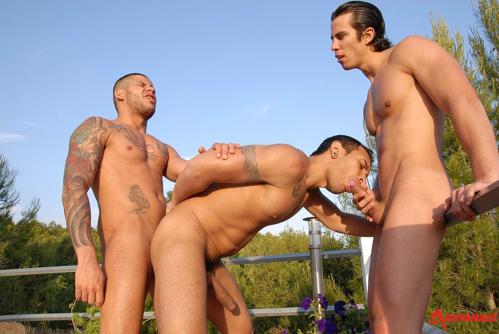 Alpha Males Lucio Saints and Mailkel Cash and Fabio Costa Lucio Saints Getting Bottomed Amateur Gay Porn 09 RARE: Lucio Saints Bottoms And Receives A Cum Facial