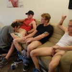 Fraternity X Andrew Straight Frat Guys Barebacking Amateur Gay Porn 01 150x150 Amateur Straight Frat Guys Take Turns Barebacking A Pledges Raw Ass