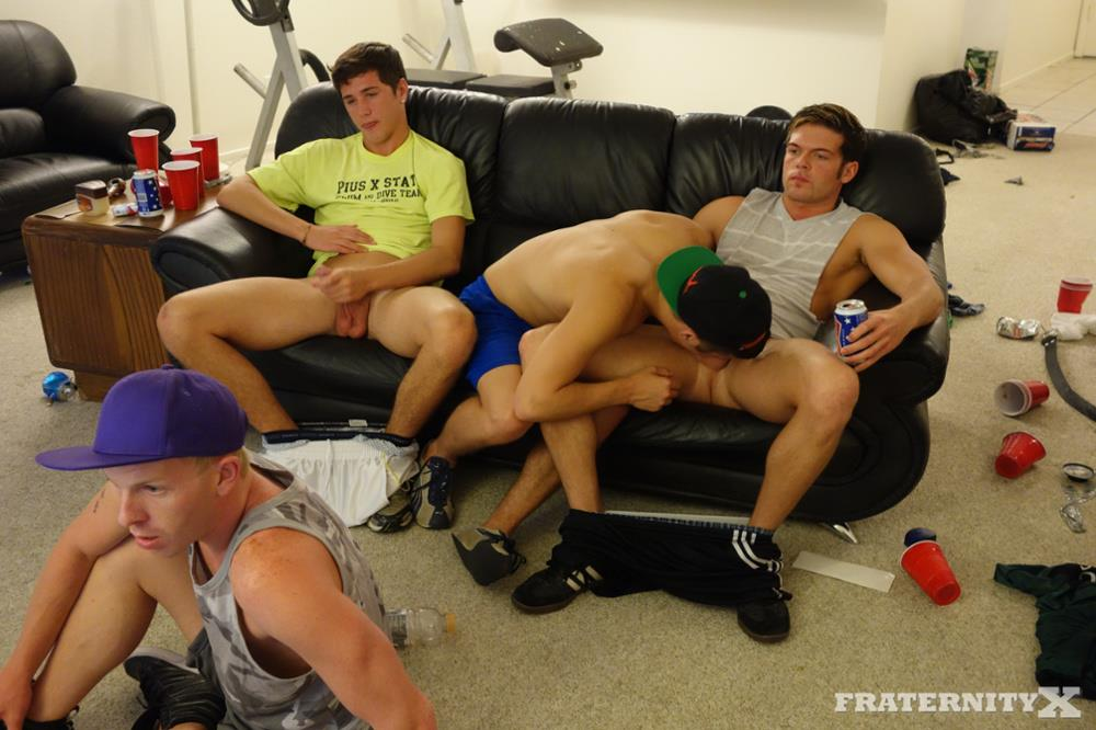 FraternityX Danny and Zach Fraternity Guys Barebacking Amateur Gay Porn 01 Fraternity Pledge Sucking Frat Cock And Getting Gangbanged Bareback