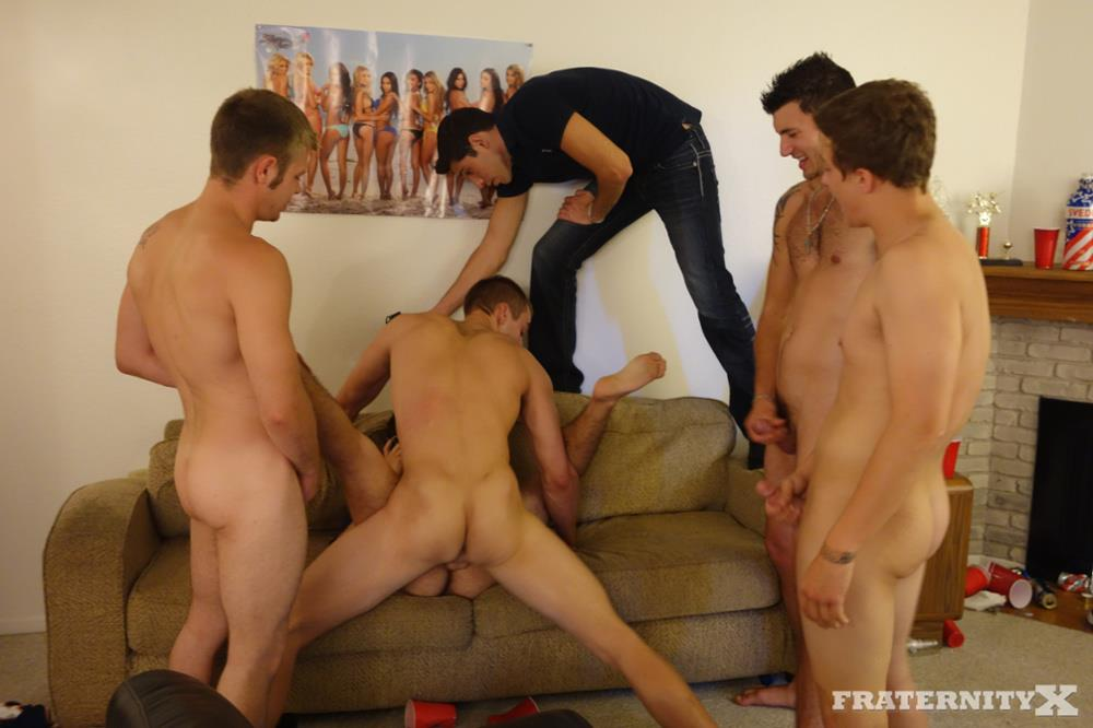 Fraternity-X-Frat-Guys-With-Big-Cocks-Bareback-Orgy-Amateur-Gay-Porn-13 Straight Drunk Fraternity Guys Tag Team Barebacking Freshman Ass