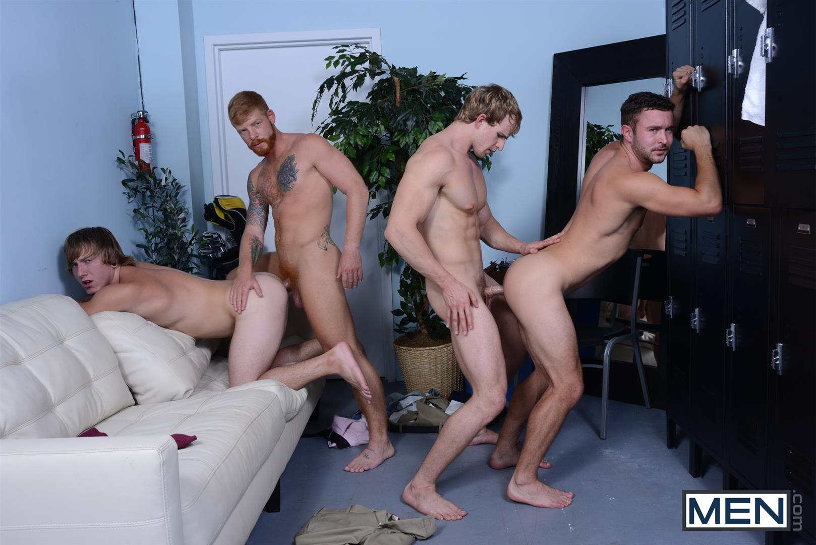 Men Jizz Orgy Swingers Bennett Anthony and Cameron Foster and Colt Rivers and Tom Faulk Fucking Bathroom Amateur Gay Porn 32 Hung Golfing Buddies Fucking In The Bathroom and Clubhouse