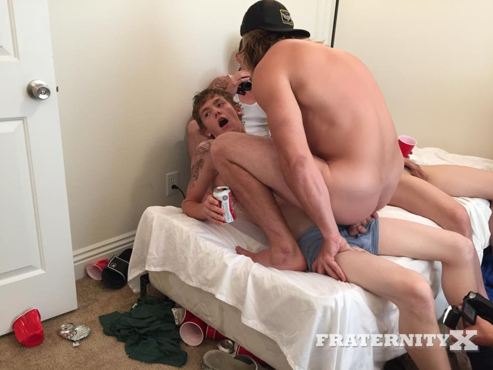 Fraternity X College Guys Fucking Bareback Video Amateur Gay Porn 12 Drunk Frat Guys Sucking Cock And Getting Fucked Bareback