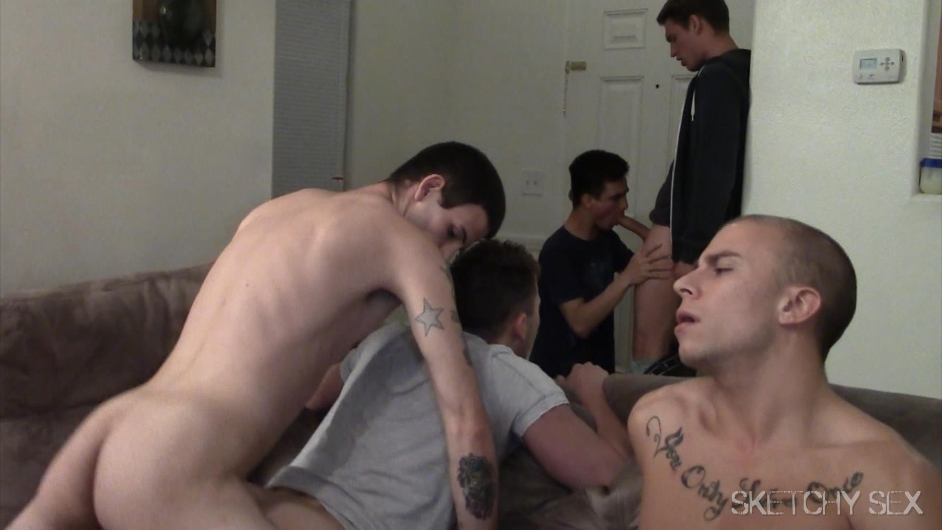 Sketchy Sex Bareback Breeding Party Amateur Gay Porn 17 Hosting An Anonymous Bareback Breeding Party