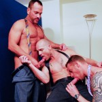 AlphaMales Kurt Rogers and Jake Ryder and Matthew Ford Bareback Threesome Amateur Gay Porn 10 150x150 Three Office Hunks In Suits With Big Uncut Cocks Bareback Fucking In The Workplace