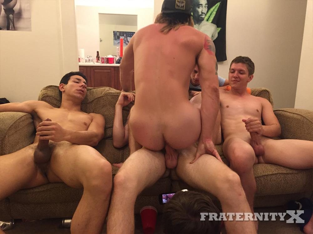 Fraternity-X-Naked-Frat-Guys-Bareback-Drunk-Sex-Amateur-Gay-Porn-8 Straight Frat Boy Takes Three Raw Cocks Up The Ass And Likes It!