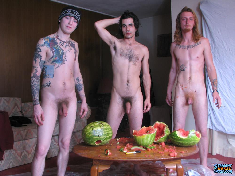 Straight Naked Thugs Devin Reynolds and Blinx and Kenneth Slayer Fucking A Watermelon Amateur Gay Porn 22 Straight Southern Naked Rednecks Fuck Some Watermelons With Their Big Dicks